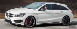 Mercedes-AMG CLA45 Shooting Brake - 2015