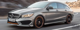 Mercedes-Benz CLA250 4MATIC Shooting Brake AMG Sports Package OrangeArt - 2015