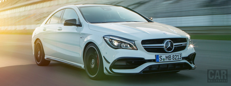 Обои автомобили Mercedes-AMG CLA 45 4MATIC - 2016 - Car wallpapers