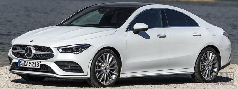 Обои автомобили Mercedes-Benz CLA 220d AMG Line - 2019 - Car wallpapers