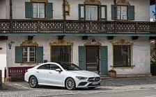 Обои автомобили Mercedes-Benz CLA 220d AMG Line - 2019