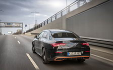 Обои автомобили Mercedes-Benz CLA 250 4MATIC AMG Line Edition Orange Art - 2019