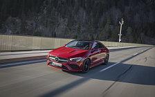 Обои автомобили Mercedes-Benz CLA 250 4MATIC AMG Line - 2019