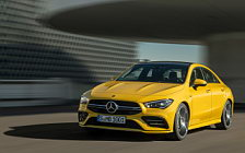 Обои автомобили Mercedes-AMG CLA 35 4MATIC - 2019