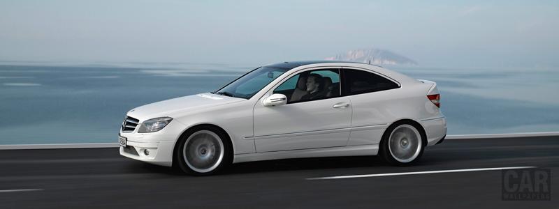 Обои автомобили Mercedes-Benz CLC220 CDI - 2008 - Car wallpapers