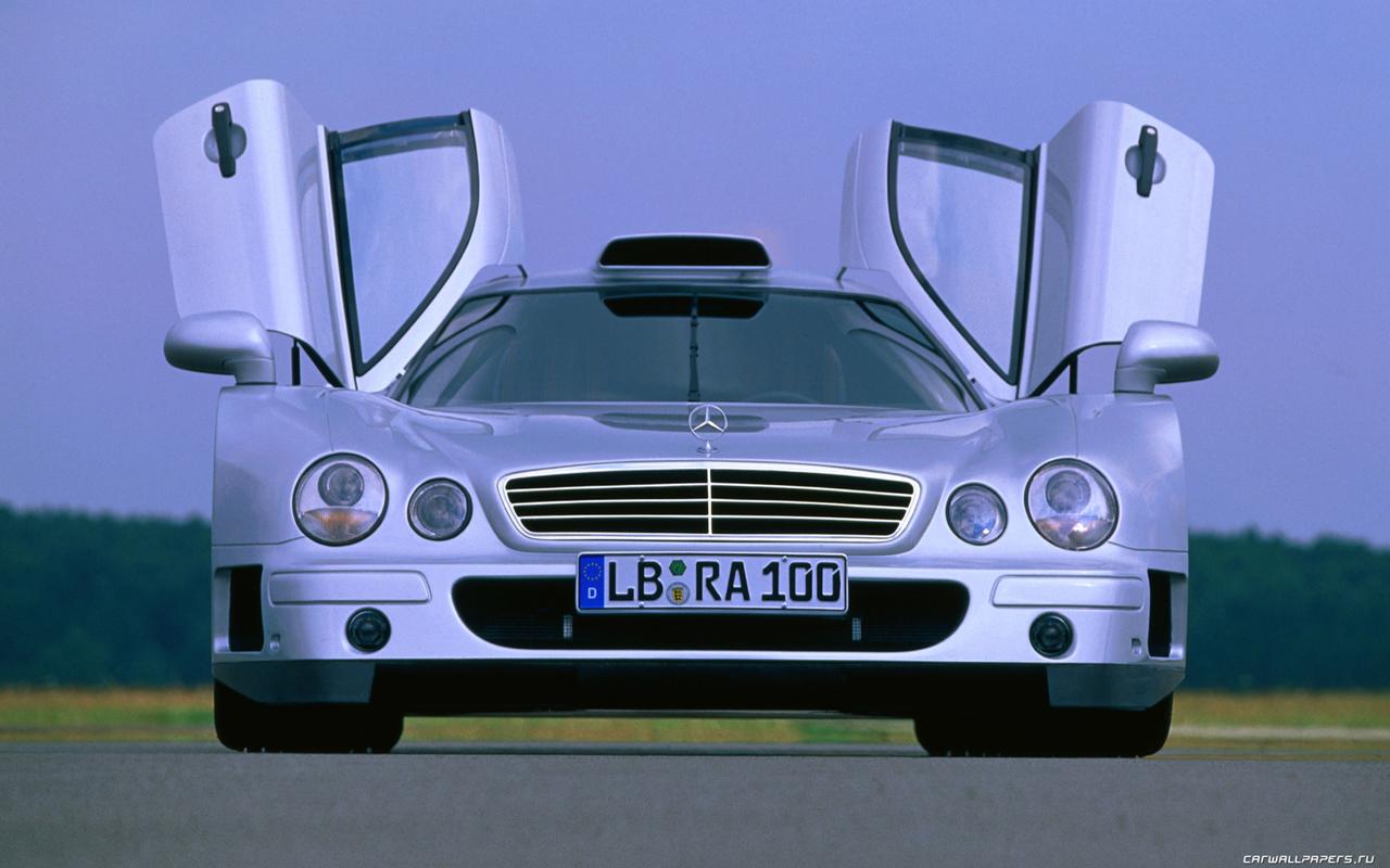 Cars desktop wallpapers Mercedes-Benz CLK-GTR - 1997