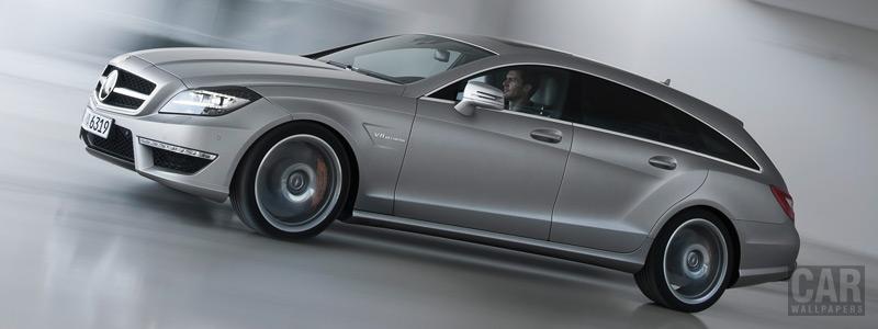Обои автомобили Mercedes-Benz CLS63 AMG Shooting Brake - 2012 - Car wallpapers