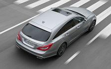 Обои автомобили Mercedes-Benz CLS63 AMG Shooting Brake - 2012