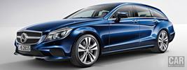 Mercedes-Benz CLS400 BlueTEC Shooting Brake - 2014