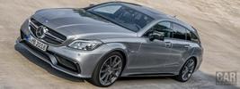 Mercedes-Benz CLS63 AMG S-Model Shooting Brake - 2014