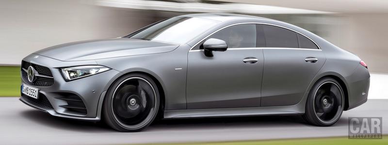 Обои автомобили Mercedes-Benz CLS 450 AMG Line Edition 1 - 2018 - Car wallpapers