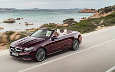 Обои автомобили Mercedes-Benz E 400 Cabriolet 25th Anniversary - 2017