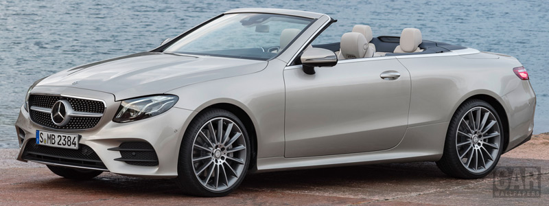 Cars wallpapers Mercedes-Benz E-class Cabriolet AMG Line - 2017 - Car wallpapers