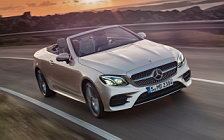 Cars wallpapers Mercedes-Benz E-class Cabriolet AMG Line - 2017