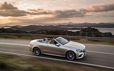 Обои автомобили Mercedes-Benz E-class Cabriolet AMG Line - 2017