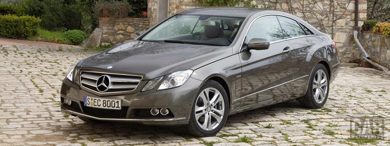 Обои автомобили Mercedes-Benz E-class Coupe E250 CGI - 2009 - Car wallpapers
