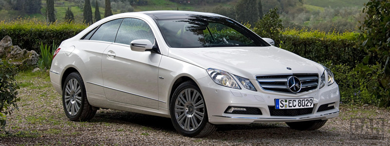Обои автомобили Mercedes-Benz E-class Coupe E350 CGI - 2009 - Car wallpapers