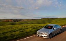 Обои автомобили Mercedes-Benz E-class Coupe E500 AMG Sports Package - 2009