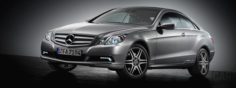 Обои автомобили Mercedes-Benz E350 CDI Coupe - 2009 - Car wallpapers