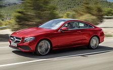 Обои автомобили Mercedes-Benz E 220 d Coupe Avantgarde - 2017