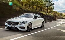 Обои автомобили Mercedes-Benz E 400 4MATIC Coupe AMG Line Edition 1 - 2017