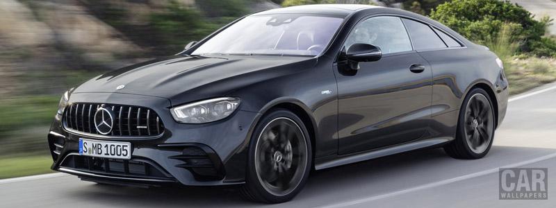 Обои автомобили Mercedes-AMG E 53 4MATIC+ Coupe - 2020 - Car wallpapers