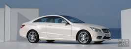 Mercedes-Benz E-class Coupe with AMG Sport Package - 2009