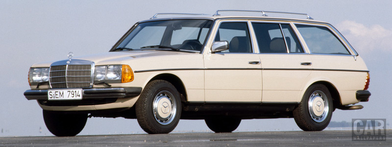 Обои автомобили Mercedes-Benz E-class Estate S123 - 1978-1986 - Car wallpapers