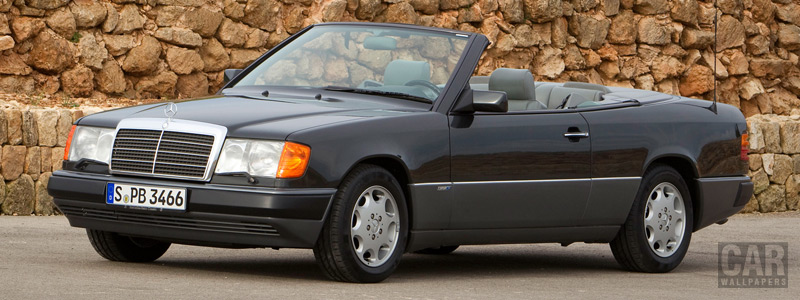 Обои автомобили Mercedes-Benz 300CE-24 Cabriolet A124 - 1991-1993 - Car wallpapers