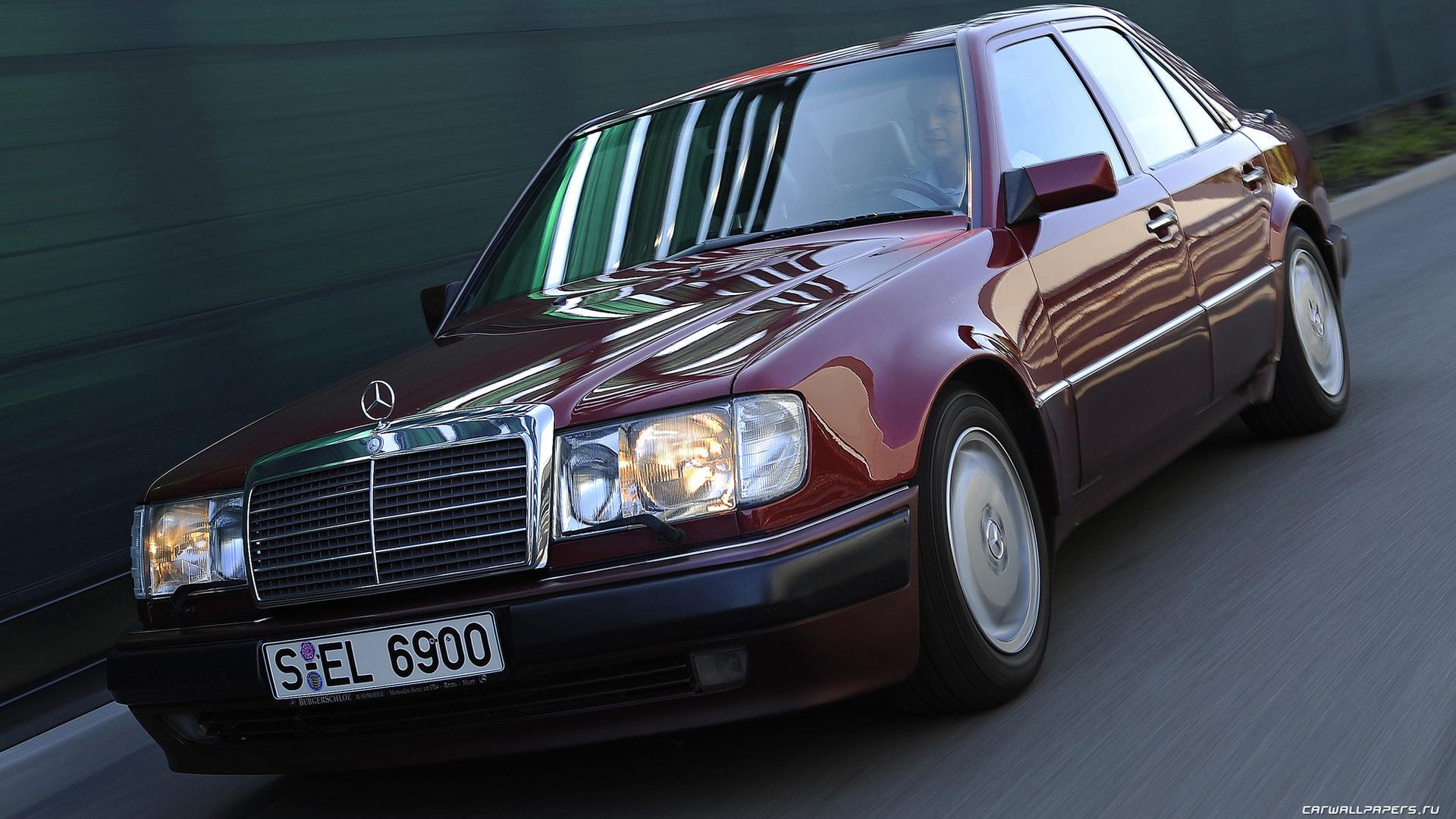 Cars desktop wallpapers Mercedes-Benz 500E W124 - 1991-1993