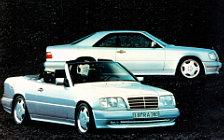 Обои автомобили Mercedes-Benz E36 AMG Cabriolet A124 - 1993-1997