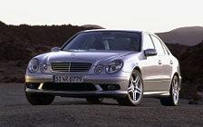 Обои автомобили Mercedes-Benz E55 AMG - 2002