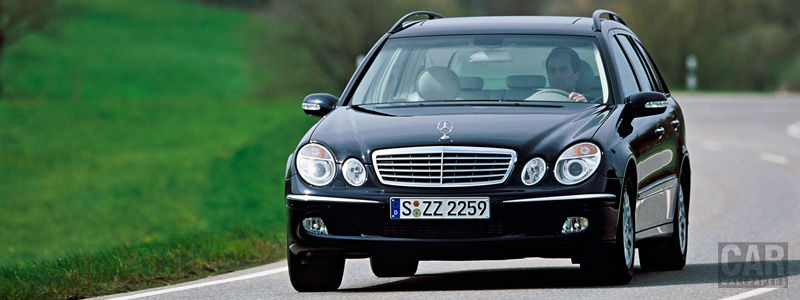 Обои автомобили Mercedes-Benz E320 CDI Estate - 2005 - Car wallpapers