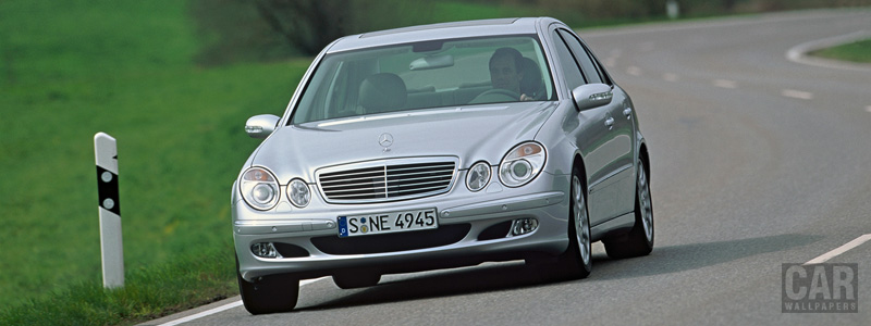 Обои автомобили Mercedes-Benz E420 CDI - 2005 - Car wallpapers