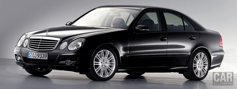 Обои автомобили Mercedes-Benz E-class Avantgarde - 2006 - Car wallpapers