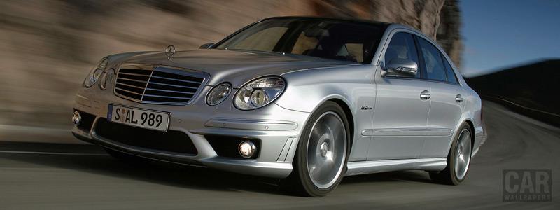 Обои автомобили Mercedes-Benz E63 AMG - 2006 - Car wallpapers