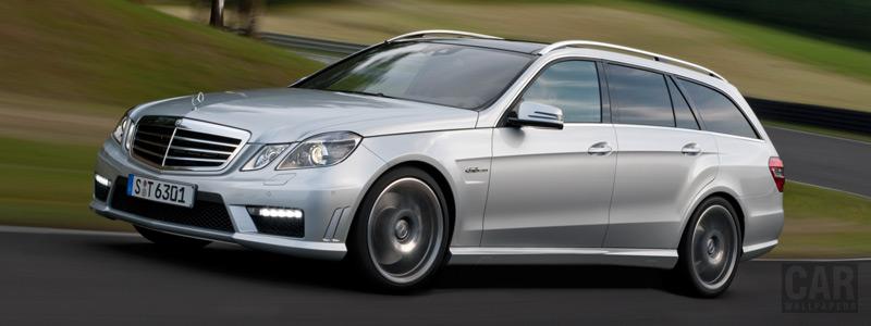 Обои автомобили Mercedes-Benz E63 AMG Estate - 2009 - Car wallpapers
