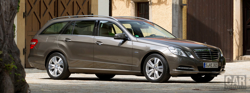 Обои автомобили Mercedes-Benz E250 CDI Estate Elegance - 2011 - Car wallpapers