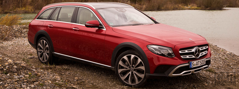 Обои автомобили Mercedes-Benz E-class All-Terrain - 2016 - Car wallpapers