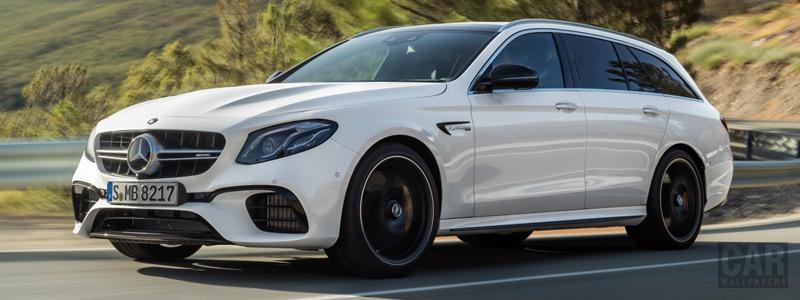 Обои автомобили Mercedes-AMG E 63 S 4MATIC+ Estate - 2017 - Car wallpapers