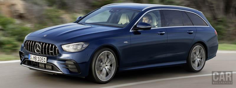 Обои автомобили Mercedes-AMG E 53 4MATIC+ Estate - 2020 - Car wallpapers