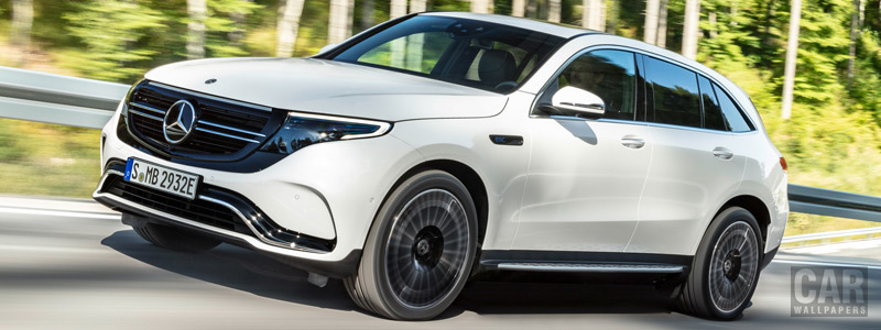 Обои автомобили Mercedes-Benz EQC 400 4MATIC AMG Line - 2019 - Car wallpapers