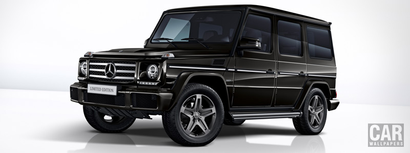 Обои автомобили Mercedes-Benz G 350 d Limited Edition - 2017 - Car wallpapers