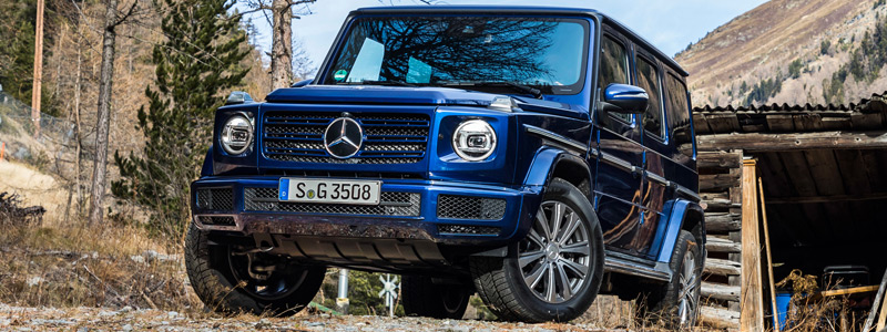 Обои автомобили Mercedes-Benz G 350 d - 2019 - Car wallpapers
