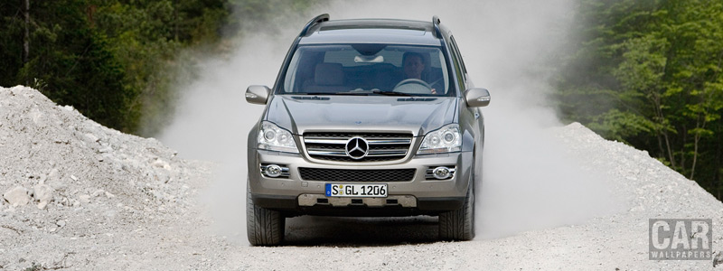 Обои автомобили Mercedes-Benz GL320 CDI - 2007 - Car wallpapers
