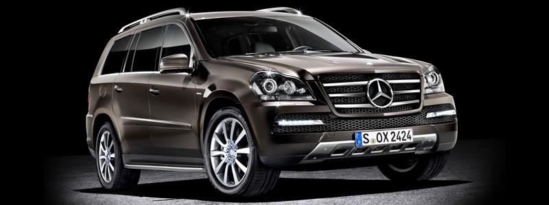 Обои автомобили Mercedes-Benz GL-class Grand Edition - 2011 - Car wallpapers