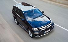 Обои автомобили Mercedes-Benz GL350 BlueTEC - 2012