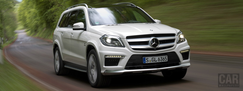 Обои автомобили Mercedes-Benz GL63 AMG - 2012 - Car wallpapers