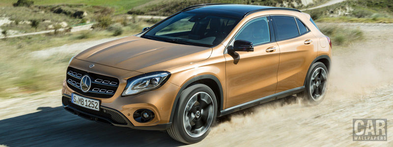 Cars wallpapers Mercedes-Benz GLA 220 d 4MATIC - 2017 - Car wallpapers