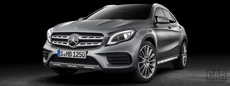 Обои автомобили Mercedes-Benz GLA 250 4MATIC AMG Line - 2017 - Car wallpapers